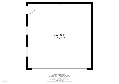 9126 GOLDEN BALL FLOOR PLAN 04 GARAGE