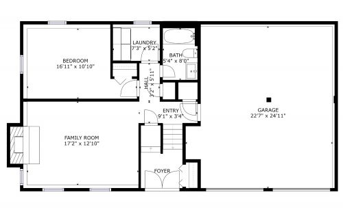 045 8922 APPLECROSS LANE Main Floor Plan