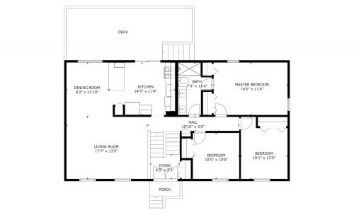 046 8922 APPLECROSS LANE Lower Floor PLan